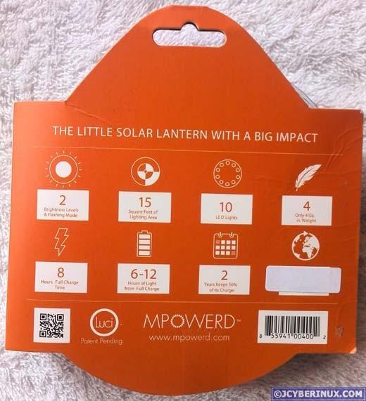 Luci Inflatable Solar Lantern