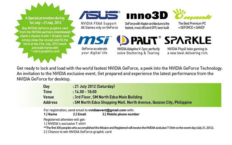 NVIDIA GeForce Day Event - Philippines July 21, 2012