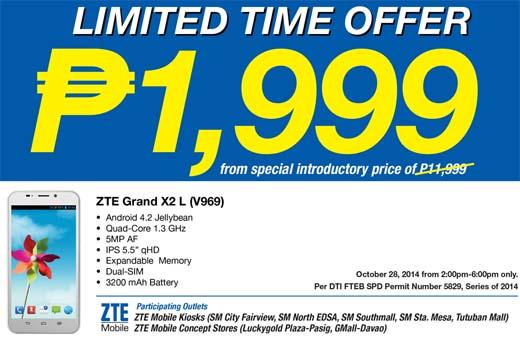 ZTE Grand X2 L